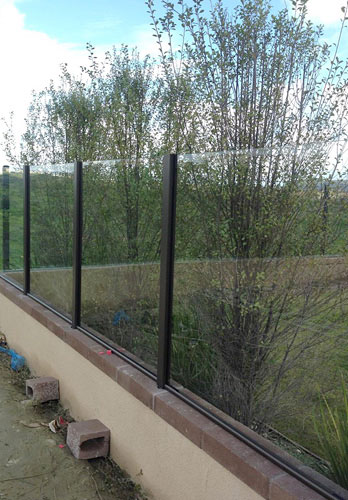 Glass Windbreak Installation Poway